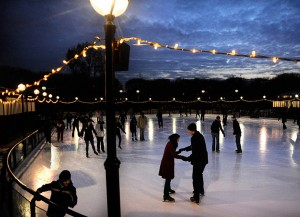 Ice Skating Romantic Date